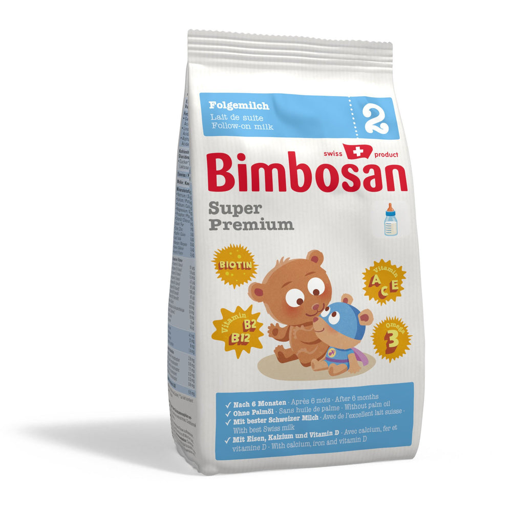 Bimbosan Super Premium Follow-on Milk, Stage 2 (refill pack- no scoop)