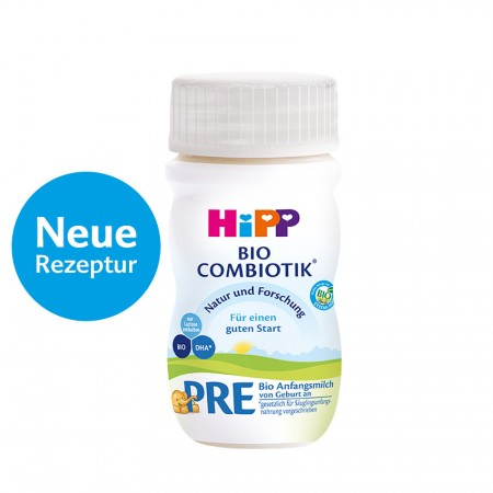 HiPP German PRE Ready to Feed (90ml bottles)