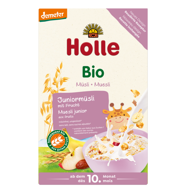 Holle Organic Junior Muesli Multigrain with Fruits