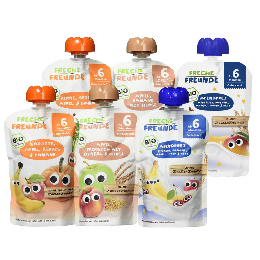 Freche Freunde Pouch Combo  6 Pack (6+ months- with purchase)