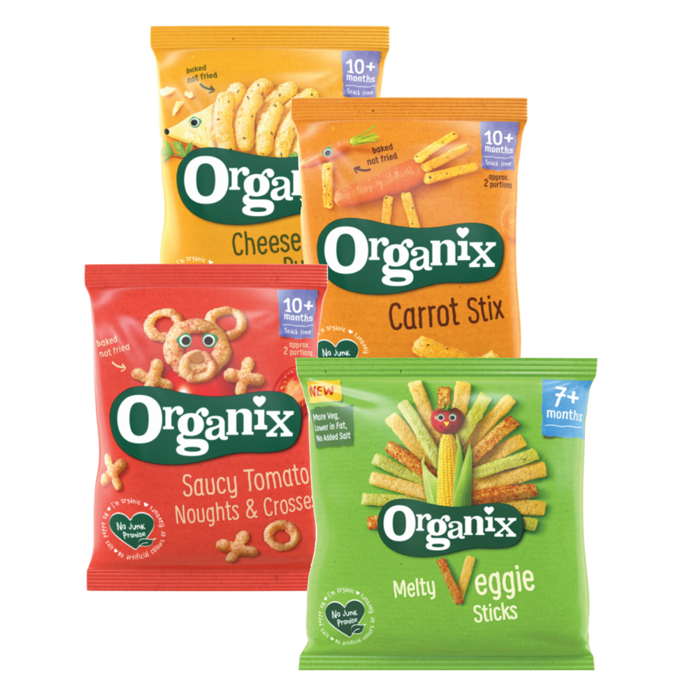 Organix Baby Puffs, pack of 4 (with purchase)