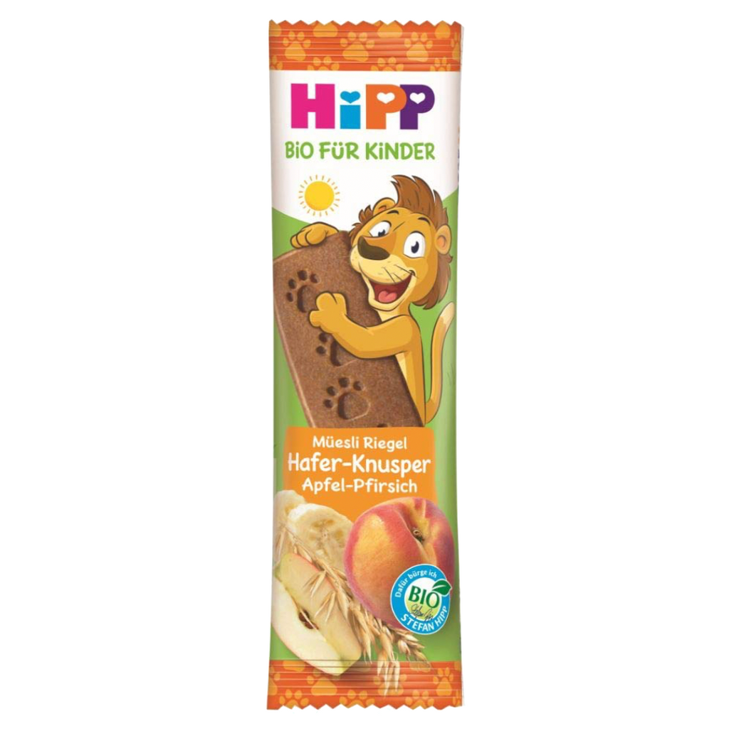 HiPP Grains, Apple & Peach Bar (with purchase)