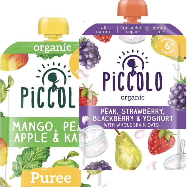 Piccolo Organic Foods, 6+ months (with purchase)