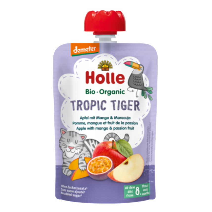 Holle Organic Taste the Rainbow Pouches- Pack of 5, 8+ months (with purchase only)
