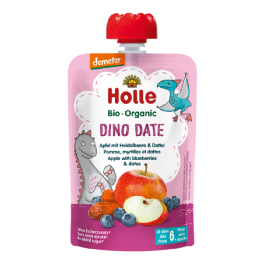 Holle Organic Taste the Rainbow Pouches, 6+ months