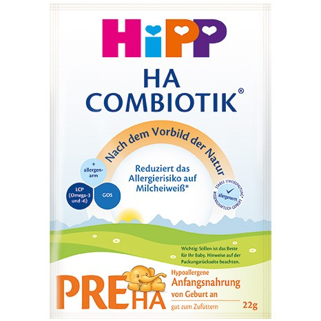 HiPP German PRE HA (sample pack of 3)