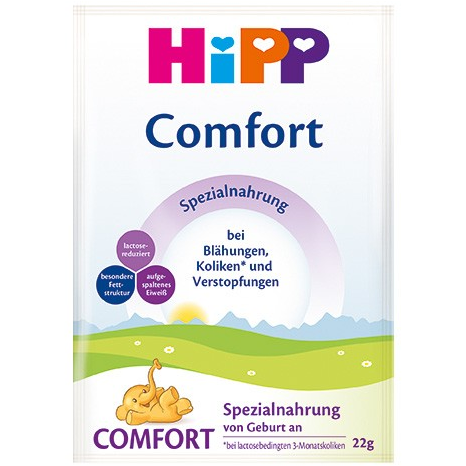 HiPP German Comfort Milk (sample pack of 3)