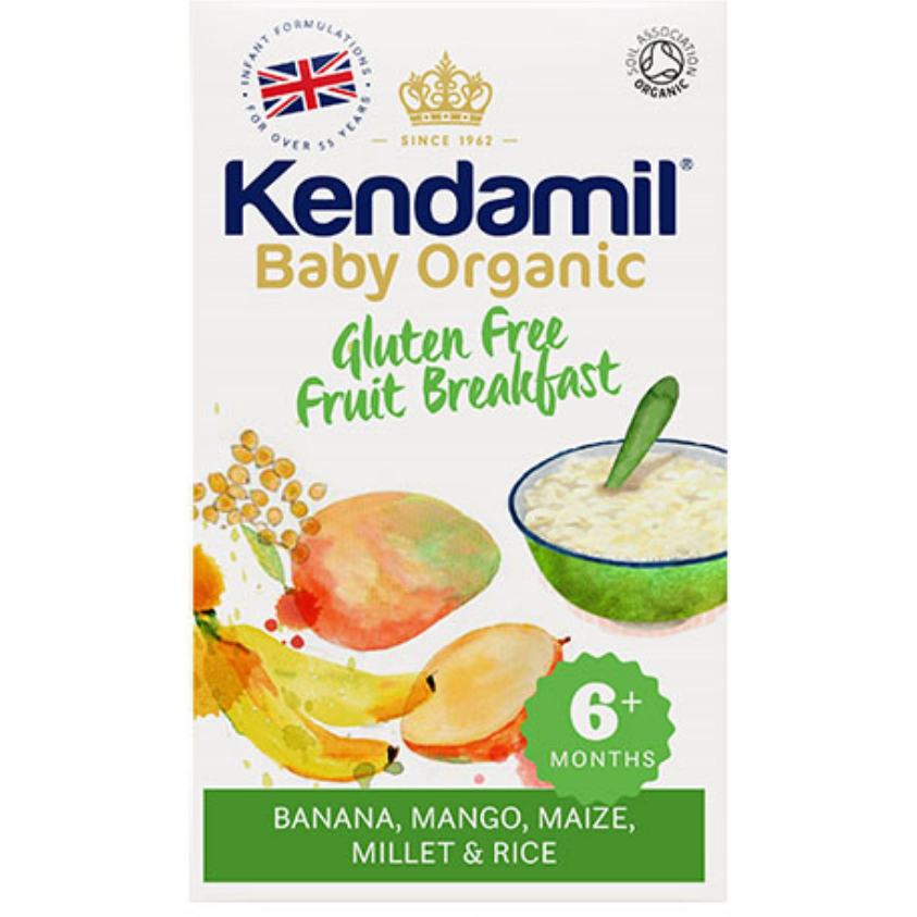 Kendamil Organic Gluten-Free Fruit Breakfast