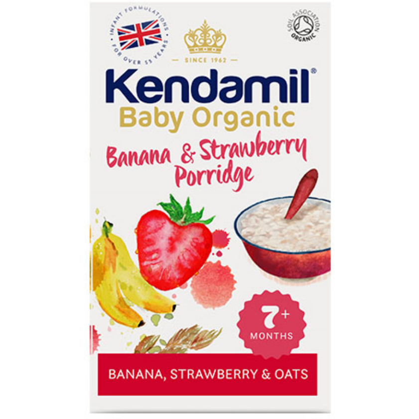 Kendamil Organic Banana and Strawberry Porridge