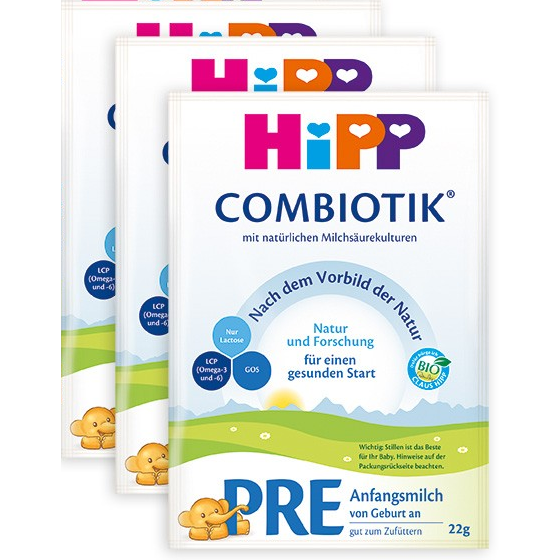 HiPP German PRE (sample pack of 3)