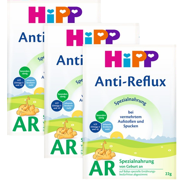 HiPP German AR Milk (sample pack of 3)