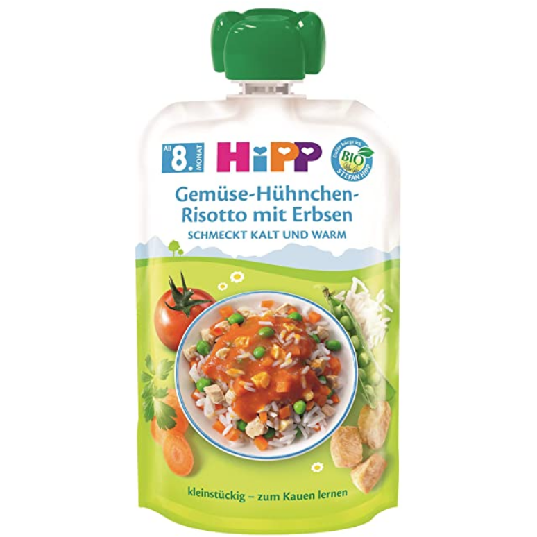 HiPP Meal Pouches, Pack of 3 (with purchase)