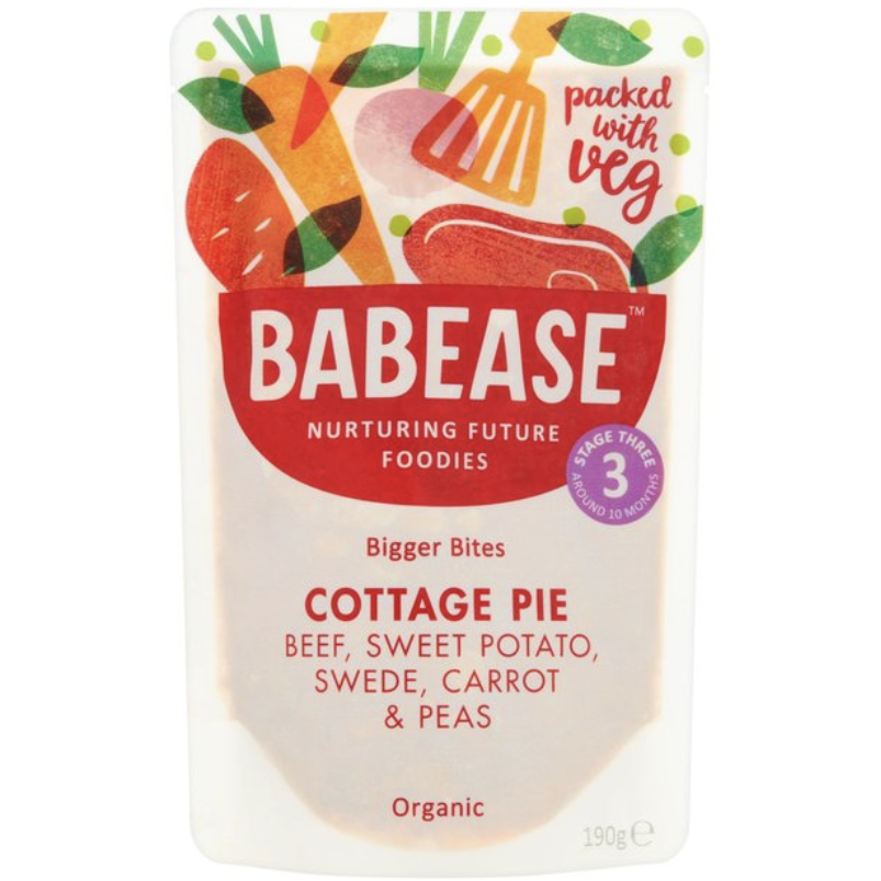 Babease Organic Food Pouches, 10+ months (with purchase)