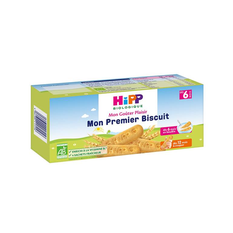 HiPP French My First Biscuits (with purchase)