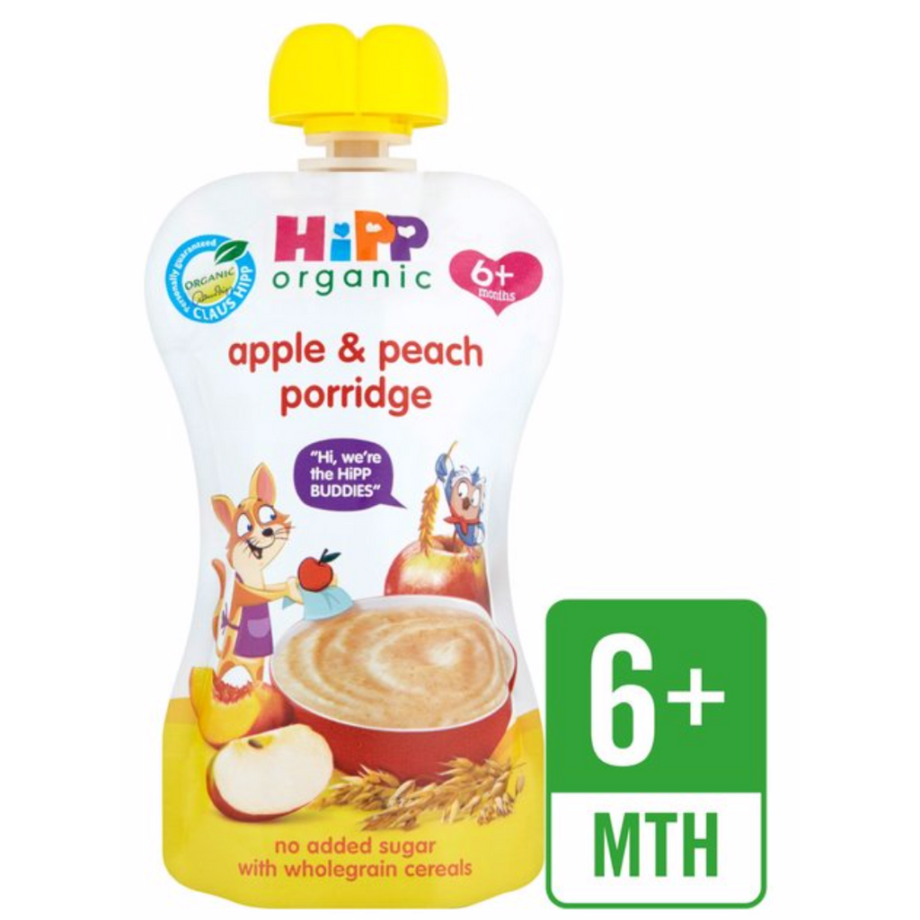 HiPP Food Pouches: 6 months, pack of 6 (with purchase)