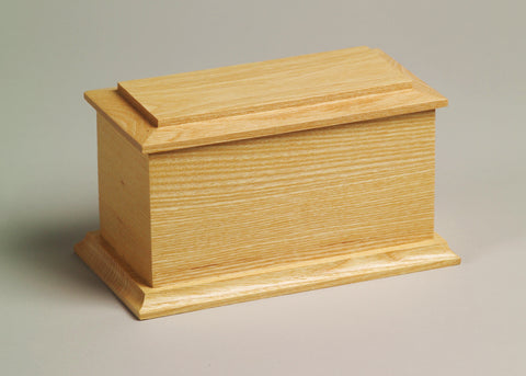 Arlington Series Wooden Urn - Natural