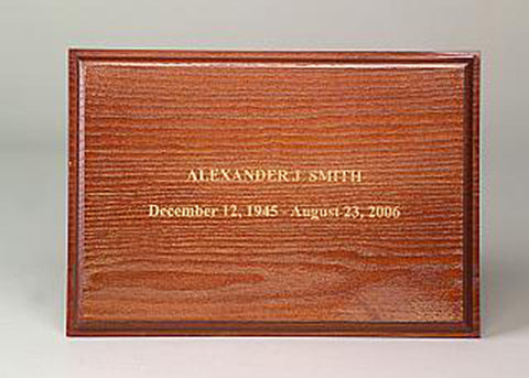Wooden Engraving 2 - Gold Filling
