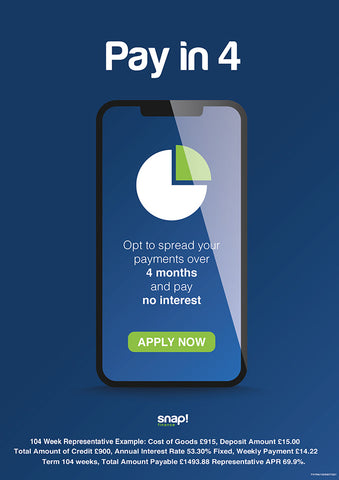 Snap Finance Pay in 4 Pay Weekly Beds