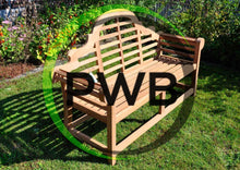 Load image into Gallery viewer, Lutyens Solid Teak Wood Garden Bench