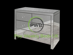 Pay Weekly Beds UK Mirror Furniture Chest Drawers Pay Weekly Finance