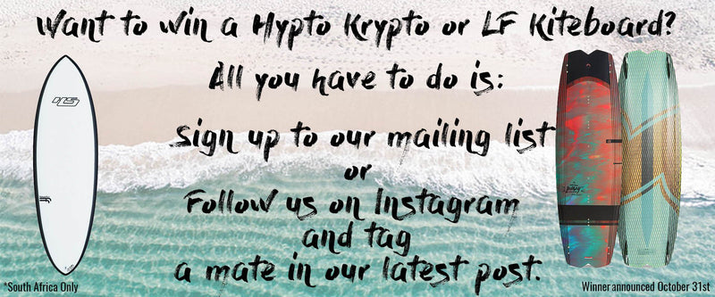 Win a Hypto Krypto or LF Kiteboard