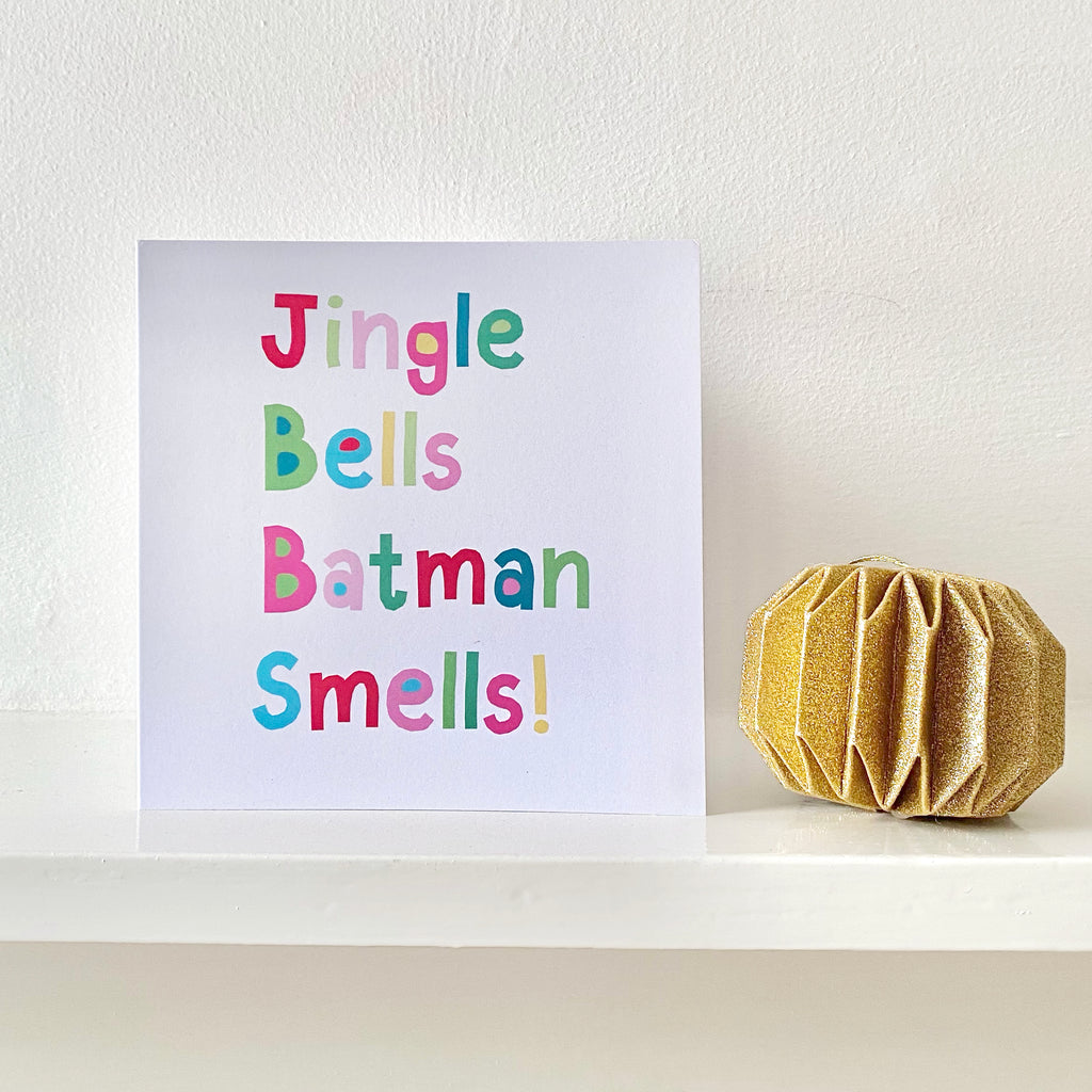 Jingle Bells Greetings Card