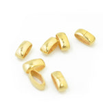 Slider Hülse // goldfarben // 12x6mm