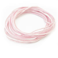 Baumwollband light rose 2m / Ø 1,0mm