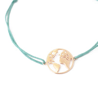 "Armband ""Around the World"" / 925er Silber"