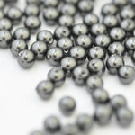 Swarovski Crystal Pearls / Black / Ø 4mm / 100 Stk.