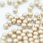 Swarovski Crystal Pearls / Bronze / Ø 4mm / 100 Stk.