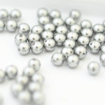 Swarovski Crystal Pearls / Grey / Ø 4mm / 100 Stk.