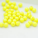 Swarovski Crystal Pearls / Neon Yellow / Ø 4mm / 100 Stk.