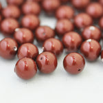Swarovski Crystal Pearls / Bordeaux / Ø 6mm / 100 Stk.