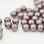 Swarovski Crystal Pearls / Burgundy / Ø 6mm / 100 Stk.