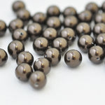 Swarovski Crystal Pearls / Deep Brown / Ø 6mm / 100 Stk.