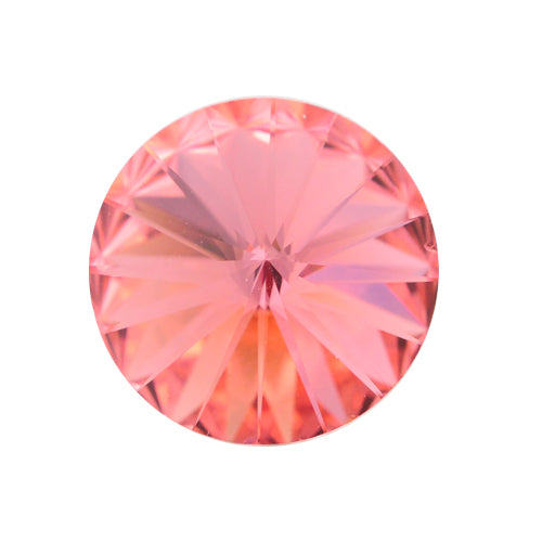 Swarovski Rivoli 1122 / Rose Peach / Ø 14mm