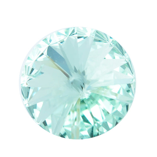 Swarovski Rivoli 1122 / Chrysolite / Ø 14mm