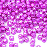 Delica dyed galvanised magenta 10 gr. Ø 1,6mm 11/0  (DB-0422)
