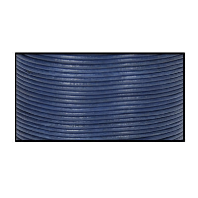 Lederband marine 1m  /  Ø 1mm