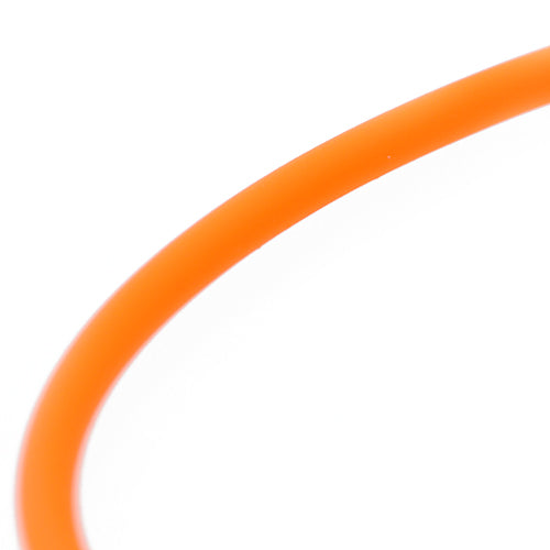 Kautschukband neon orange 1m / Ø 3mm