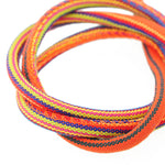 Ethnoband indi orange 1m / Ø 6mm