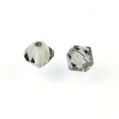 Swarovski Xilion Bicone / Black Diamond / 50 Stk. / Ø 3mm
