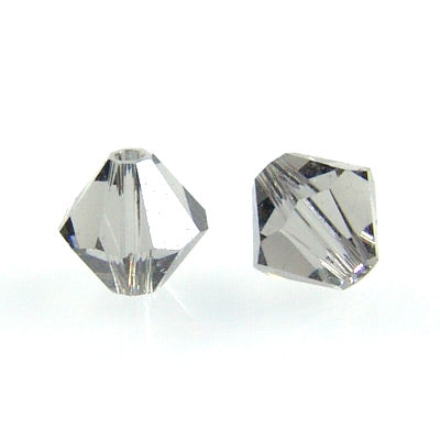 Swarovski Xilion Bicone / Black Diamond / 25 Stk. / Ø 6mm