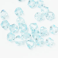Swarovski Xilion Bicone / Light Azore / 25 Stk. / Ø 6mm