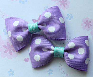 Ariel/Patrick Star Inspired Tuxedo Bow Set