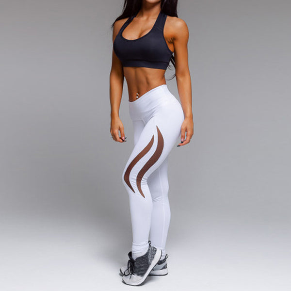 Flame Mesh Leggings