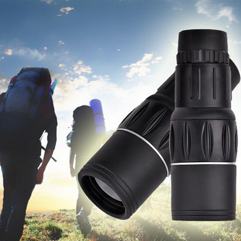 16 x 52 High Magnification Green Film Coating Lens Shimmer Monocular Single Adjustment Telescope