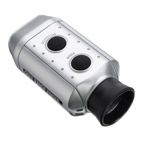 Golf Scope Sport Yards Distance Measurement Device Digital 7 x 18 Golf Range Finder Monocular Silver