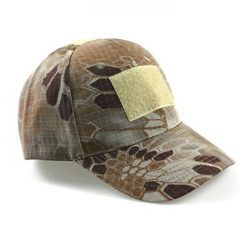 HAN WILD Unisex Hunting Tactical Baseball Cap Cotton Camouflage Hat Desert Pythons Grain